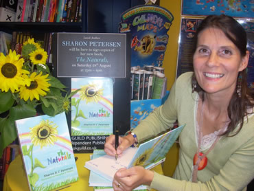 My First Booksigning in Petersfield 28th August 2010